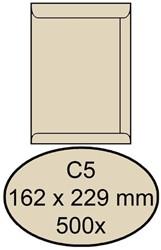 Envelop Quantore akte C5 162x229mm cremekraft 500stuks