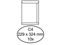 Envelop Quantore akte C4 229x324mm zelfklevend wit 10stuks