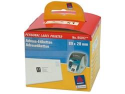 Etiket Avery Zweckform R5012 labelprint 89x28mm wit 260stuks