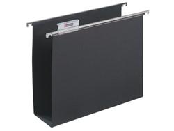 Hangmap Alzicht A6621-58 folio U-bodem 80mm zwart