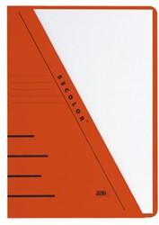Insteekmap driehoeksmap Jalema Secolor A4 rood