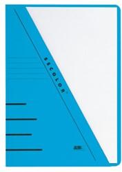Insteekmap Jalema Secolor A4 270gr  blauw