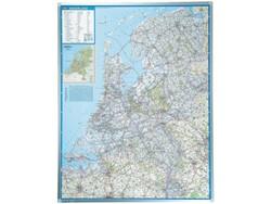 Landkaart Legamaster Nederland 130x101cm