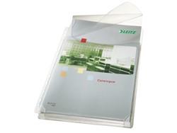 Showtas Leitz 4757 11-gaats PVC 0.17mm glad met klep