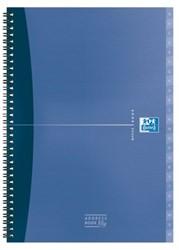 Adresboek Oxford Essentials A5 80vel met dubbelspiraal