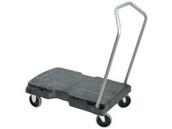 Transportkar Rubbermaid inklapbaar 82.6x52cm zwart