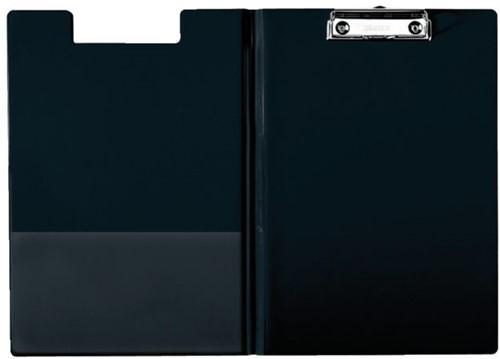 Klembordmap Esselte 56047 met kopklem en insteek zwart
