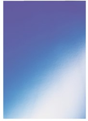 Voorblad GBC A4 chromo karton 250gr blauw 100stuks