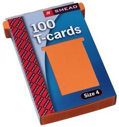 Planbord T-kaart A5547-423 107mm oranje