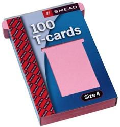 Planbord T-kaart A5547-42 107mm roze