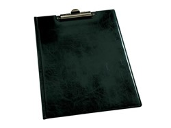 Klemmap Durable 2355 met kopklem en insteek zwart