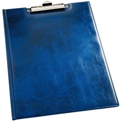 Klembordmap Durable 2355 met kopklem en insteek blauw