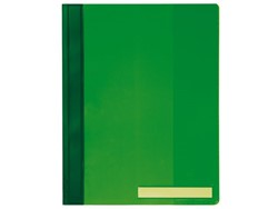 Snelhechter Durable 2510 A4 PVC extra breed groen