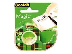 Onzichtbaar plakband Scotch Magic 810 12mmx10m +afroller