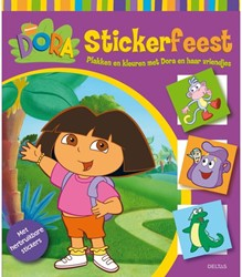Stickerboek Deltas Dora stickerfeest