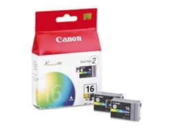 Inkcartridge Canon BCI-16 kleur 2x