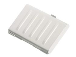 Visitekaartenhouder 2vaks mat aluminium