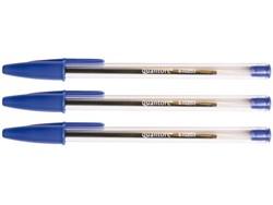 Balpen Quantore Stick blauw medium