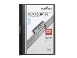 Klemmap Durable 2209 A4 6mm zwart