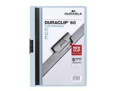 Klemmap Durable 2209 A4 6mm blauw