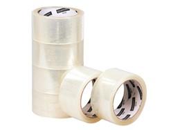 6x Verpakkingstape Quantore 50mmx60m PP transparant 6 ROL