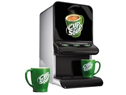Cup-a-soup mini automaat tbv vendorzakken
