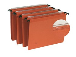 Hangmap Elba DEFI A4 U-bodem 30mm karton oranje