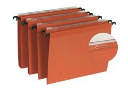 Hangmap Elba DEFI folio V-bodem karton oranje
