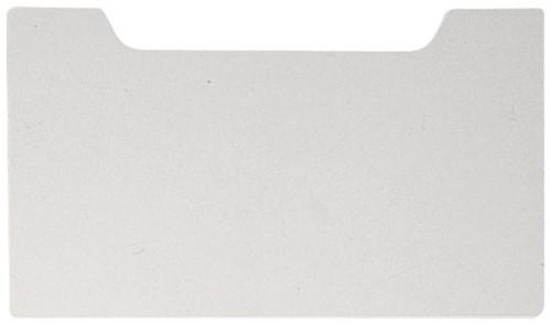 Afdekplaat Exacompta A4 dwars grijs