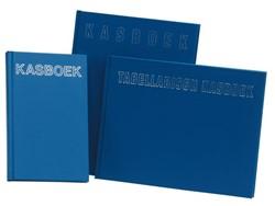 Kasboek gebonden 205x165mm 192blz met 2 kolommen