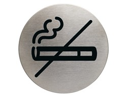 Infobord pictogram Durable 4911 niet roken rond 83Mm