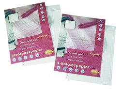 Interieur Multo  journaalpapier A4 23-rings 50vel