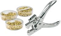 Hechtringen KW-trio 5.5mm 25vel 250stuks koper-2