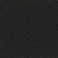 Stoel Anthra, stof rug zwart