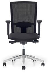 Bureaustoel Prosedia Se7en - Rug netbespanning zwart - inclusief armleggers